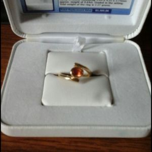 Genuine Mexican Fire opal.